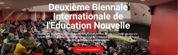 La Deuxième Biennale Internationale de l'Education Nouvelle